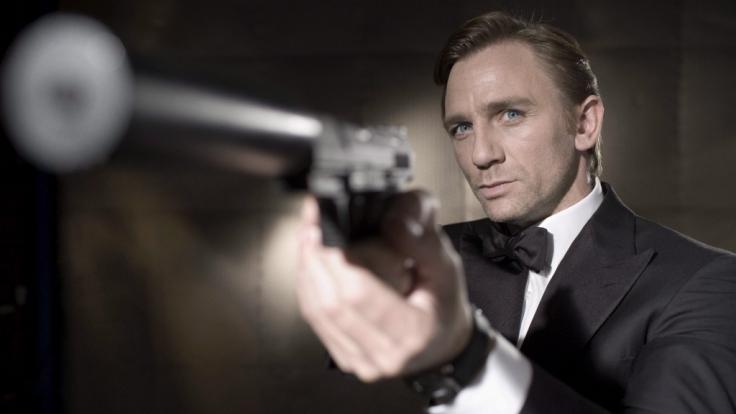 James Bond (Hier Daniel Craig) musste sich schon einiger Fieslinge erwehren. (Foto)