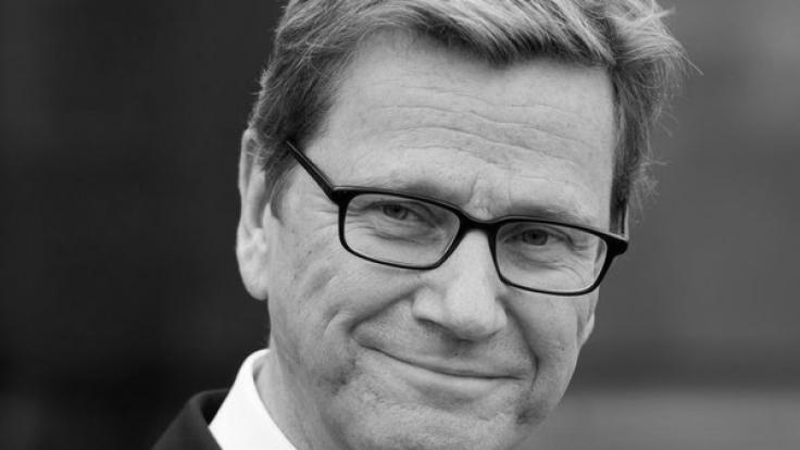 Ex-Außenminister Guido Westerwelle ist im Alter von 54 Jahren an Leukämie verstorben. (Foto)