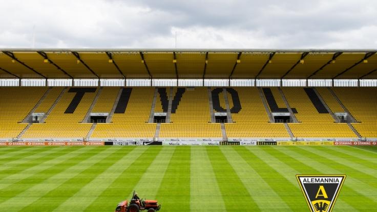 Alles zum aktuellen Spiel des Alemannia Aachen lesen Sie hier auf news.de. (Foto)