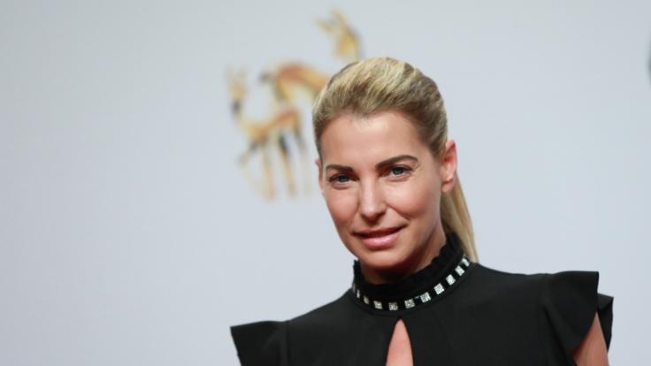 Schauspielerin und Moderatorin Giulia Siegel.