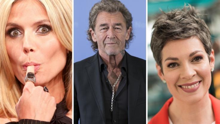 Heidi Klum, Peter Maffay und Cheryl Shepard (v.l.n.r.) waren nur drei Promis, die diese Woche für überraschende Nachrichten sorgten.