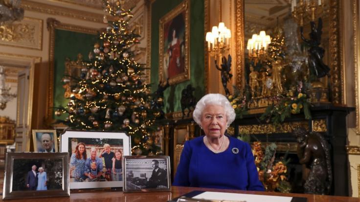 In der Weihnachtsrede spricht Queen Elizabeth II. über persönliche Dinge. (Foto)