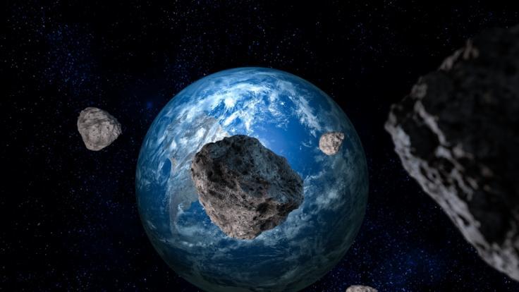 An Pfingsten kommt ein riesiger Asteroid in Erdnähe. (Foto)