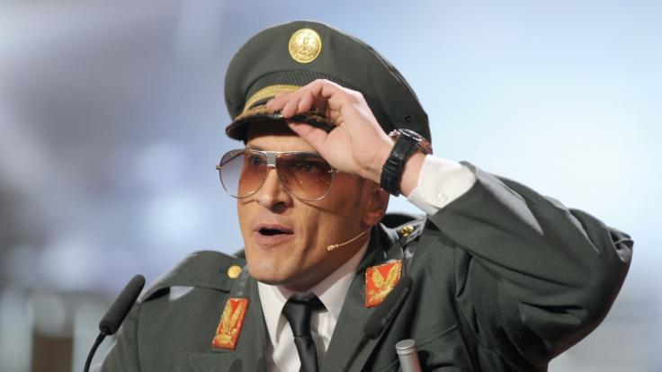 Mirco Nontschew ist ein Freund skurriler Rollen und Kostüme.