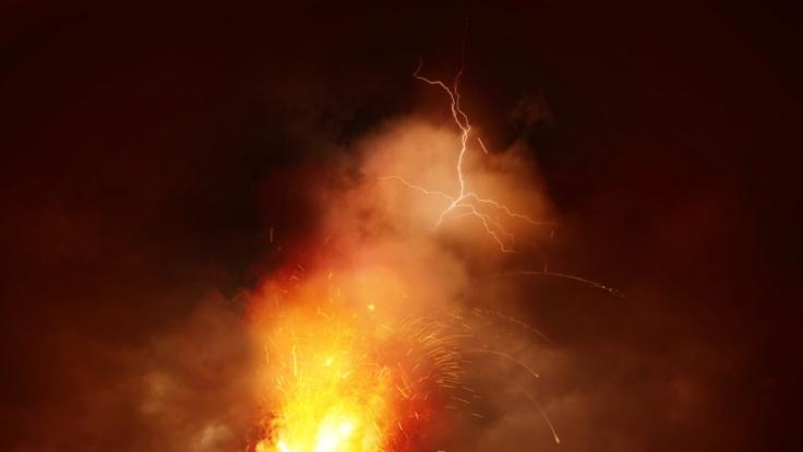 Der Vulkan Peaktusan ist eine der größten Gefahren für die Menschheit.
