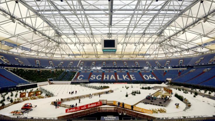 Der Biathlon auf Schalke, auch bekannt als Biathlon World Team Challenge, geht am 28. Dezember 2019 zum 18. Mal in Gelsenkirchen über die Bühne. (Foto)