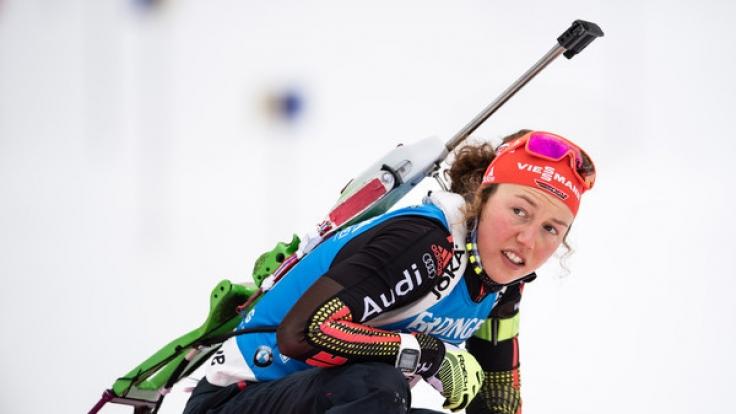 Laura Dahlmeier kann aufgrund einer Erkältung in Östersund nicht an den Start gehen.
