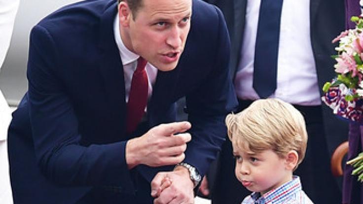 Da muss Papa William wohl erst einmal ein Machtwort sprechen.