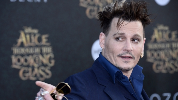 Johnny Depp bei der Premiere von