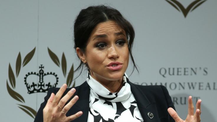 Nicht nur Meghan Markle dürfte angesichts der aktuellen Royals-News große Augen gemacht haben. (Foto)