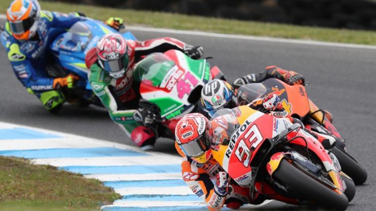 Die MotoGP gastiert an diesem Wochenende in San Marino. (Foto)