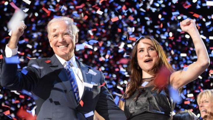 """Seine Tochter Ashley Biden ist Joe Bidens ganzer Stolz. So tickt die neue """"First Daughter"""" privat. (Foto)"""