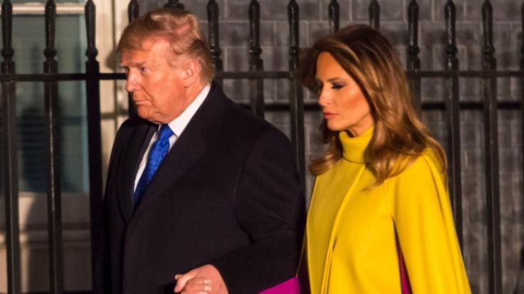 Melania Trump reagierte ungewohnt schnippisch auf die Scheidungsgerüchte von ihrem Mann Donald Trump. (Foto)