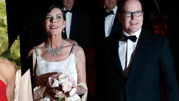 Zwischen Charlène und Caroline von Monaco herrscht Eiszeit. (Foto)