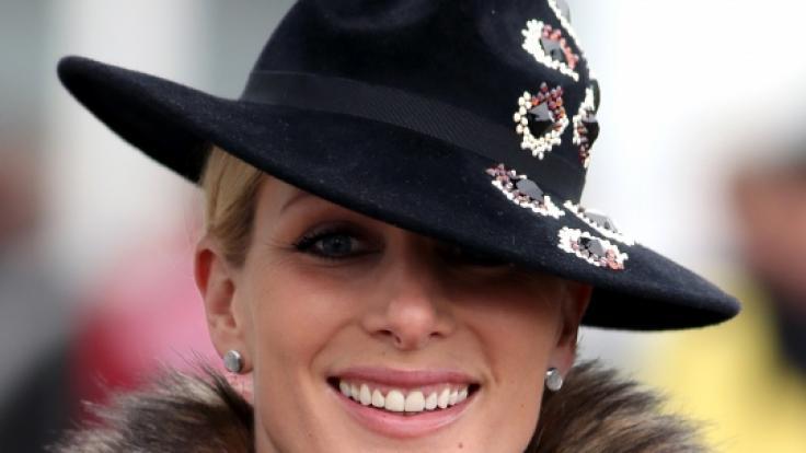 Zara Tindall, Enkelin der Queen, stürzte bei den Burghley Horse Trials vom Pferd. (Foto)