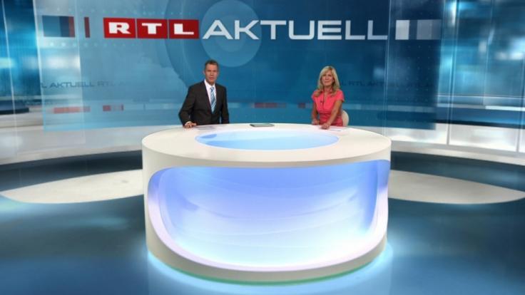"""Die Nachrichtensendung """"RTL Aktuell"""" geht künftig zweimal täglich auf Sendung. (Foto)"""