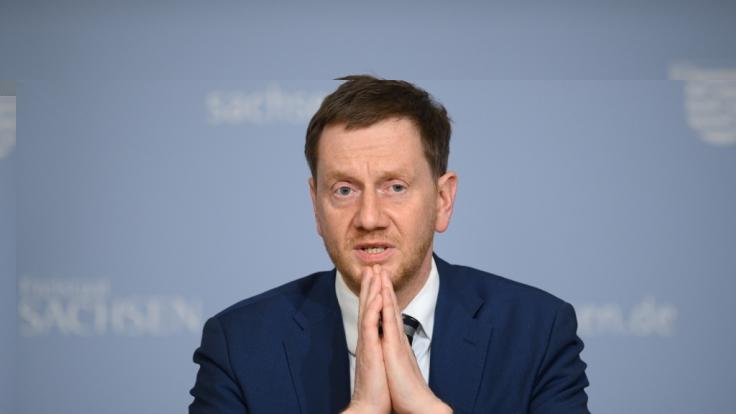 Michael Kretschmer (CDU), Ministerpräsident von Sachsen, hält die Corona-Lockerungen für gescheitert.