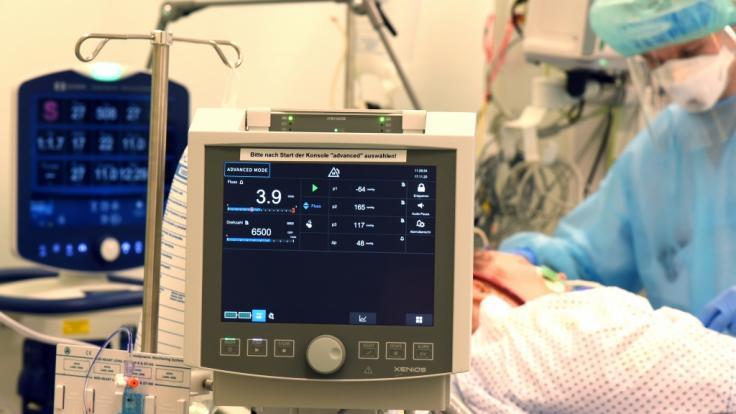 Zahl der Corona-Patienten auf Intensivstationen steigt weiter. (Foto)