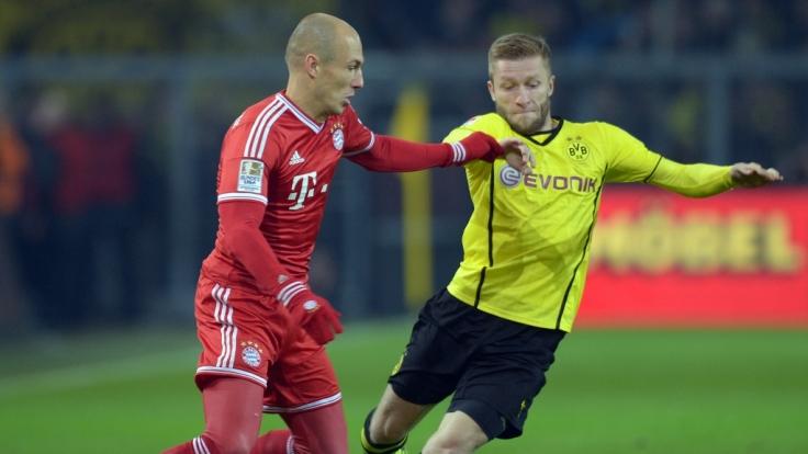 Gegen wen spielen Bayern München und der BVB? Hauptsache nicht gegeneinander!