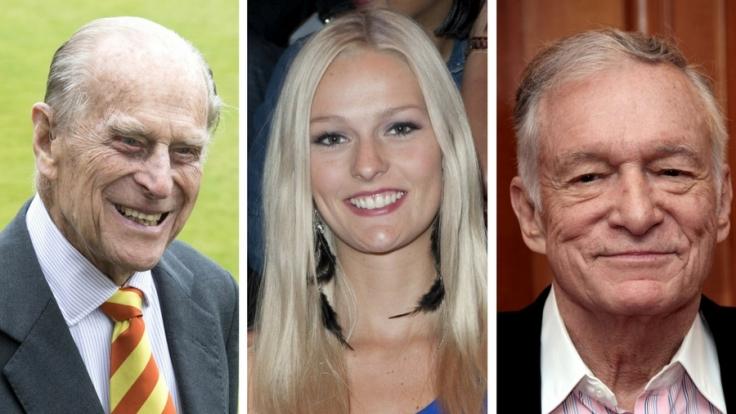 Prinz Philip, Miriam Höller und Hugh Hefner wurden alle drei unfreiwillig mit dem Tod konfrontiert. (Foto)