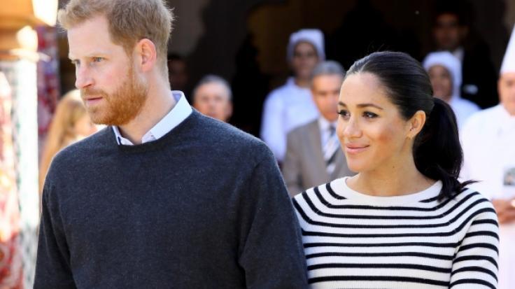 Prinz Harry und Meghan Markle werden im Frühjahr zum ersten Mal Eltern. (Foto)
