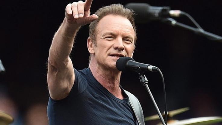 "Sting geht 2017 auf ""57th & 9th"" Tournee. (Foto)"