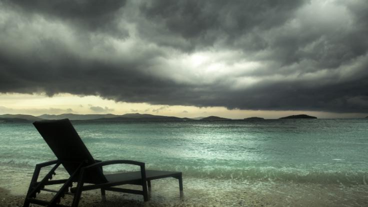 Dem Mittelmeerraum droht Unwetter.