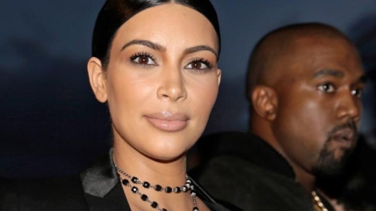 Bei Kim Kardashian steht demnächst Plazenta auf dem Speiseplan. (Foto)