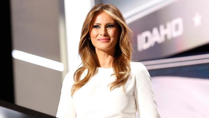 Melania Trump wird 2017 Amerikas neue First Lady.