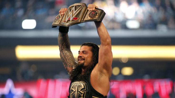 Darf Roman Reigns wieder einmal bei Wrestlemania jubeln? (Foto)