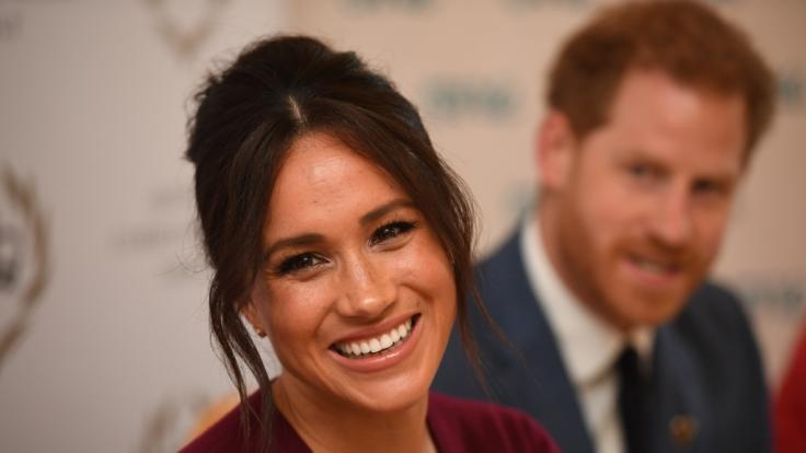 Meghan Markle und Prinz Harry erwarten ihr zweites Kind. (Foto)