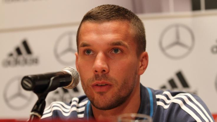 Lukas Podolski: Der Ex-Nationalspieler kann auf eine lange Fußballkarriere zurückblicken. (Foto)
