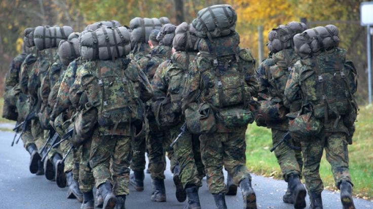 Die Bundeswehr stellt jetzt auch Übergewichtige ein. (Foto)