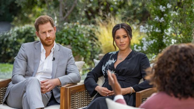Die Haustiere von Prinz Harry und Meghan Markle schweben in Montecito in Gefahr.
