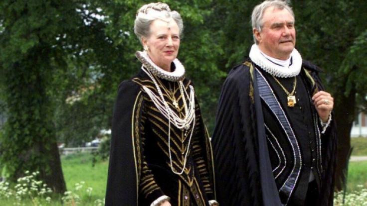 Königin Margrethe von Dänemark und Prinz Henrik waren 50 Jahre lang verheiratet. (Foto)
