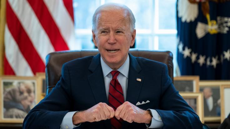 Joe Biden ist kaum zwei Wochen im Amt, da wird der neue US-Präsident bereits heftig kritisiert. (Foto)