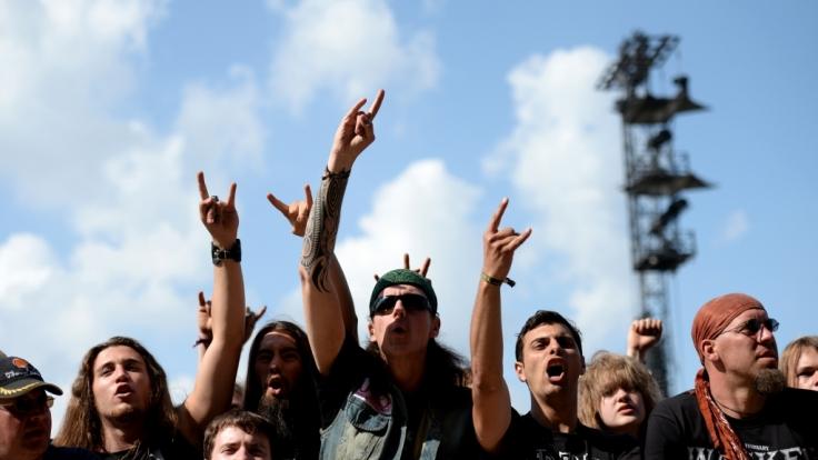 Eine große Familie: Das Publikum beim Wacken Open Air.