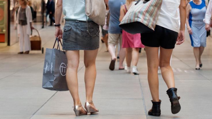 Sogar am Sonntag ist in einigen Städten Shopping möglich!