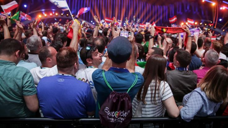 Begeistertes Publikum: Der Eurovision Song Contest findet 2018 in Portugal statt. (Foto)