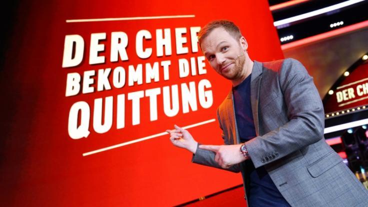 """Moderator und Comedian Ralf Schmitz fordert in seiner neuen Show """"Der Chef bekommt die Quittung"""" Bosse und ihre Mitarbeiter heraus. (Foto)"""