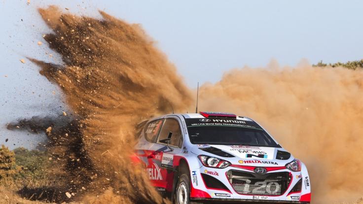 Alle aktuellen Infos zur WRC Rallye Italien-Sardienien lesen Sie auf news.de. (Foto)