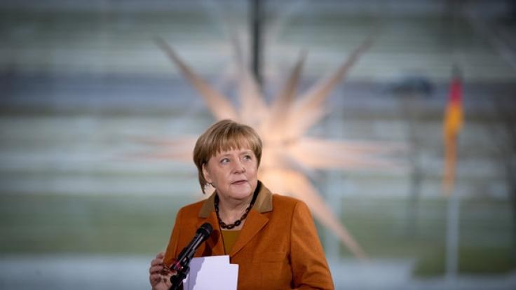 Worauf müssen wir uns nächstes Jahr einstellen, Frau Kanzlerin? (Foto)