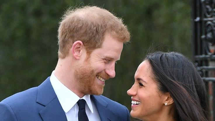 Gaben ihre Verlobung im Kensington Palast bekannt: Meghan Markle und Prinz Harry.
