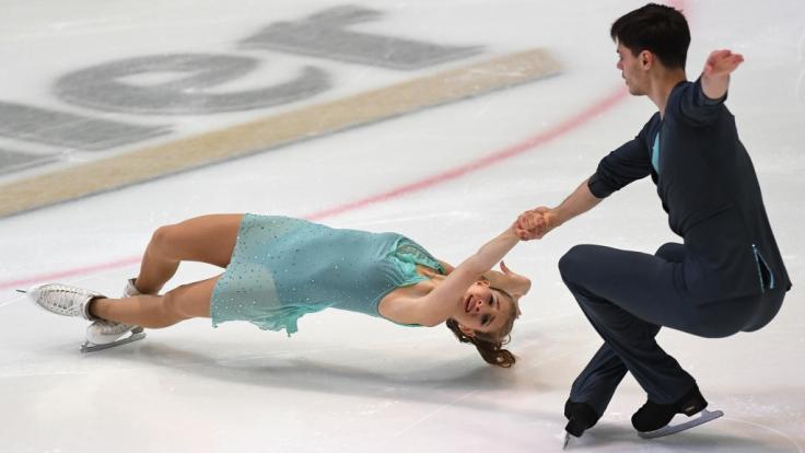 Das Duo aus Minerva-Fabienne Hase und Nolan Seegert tritt bei der Eiskunstlauf-EM 2019 als einziges deutsches Paar an. (Foto)