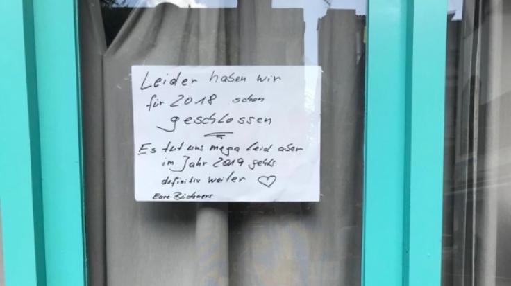 Wird Jens Büchners Fan-Café bald wiedereröffnet?