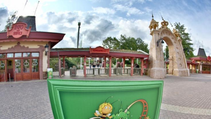 Im Holiday Park in Haßloch starb ein Dreijähriger an einem Wurststück. (Foto)