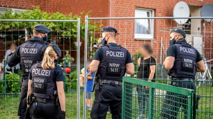 Tönnies-Mitarbeiter isoliert: In Verl wurden Wohngebiete unter Quarantäne gestellt. (Foto)