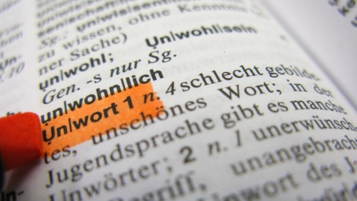 Deutsche Wörter in anderen Sprachen. (Foto)