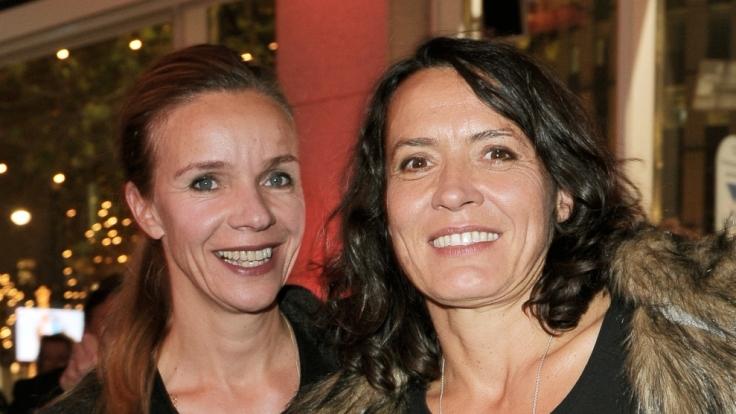 Ulrike Folkerts und Freundin Katharina Schnitzler. (Foto)