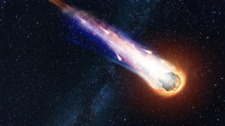 Wissenschaftler entdeckten einen Kometen auf dem Weg in unser Sonnensystem. (Foto)